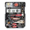 Caisse a outils avec cles a cliquet chrome vanadium 7