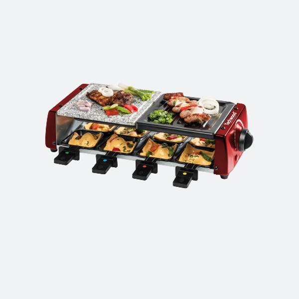 raclette grill et pierre de cuisson